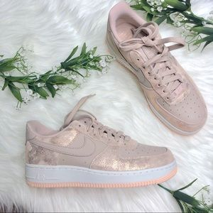 Nike | Air Force 1 LX Premium Metallic Peach Shoes